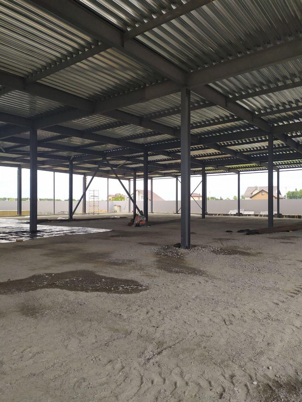Строительство склада из металлоконструкций под ключ в Киеве и Украине